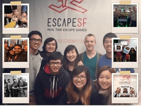 Team played EscapeSF games