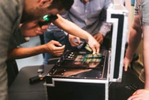 Sabotage gameplay puzzle gadgets