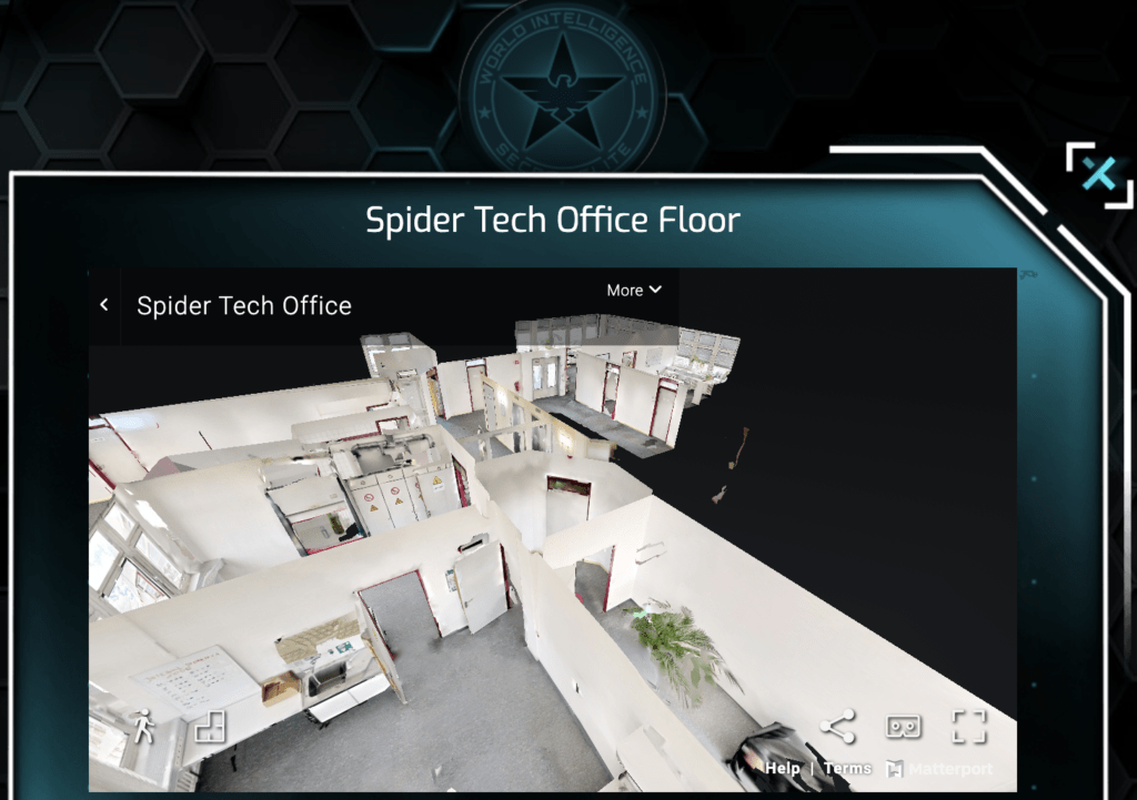3D office The Pegasus Project – Online Escape Game Experience!